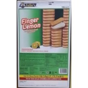 Julie's Finger Lemon Sandwich 5Kg