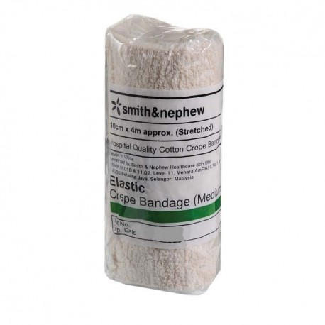 Smith & Nephew Elastic Crepe Bandage 10cm x 4m