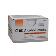 BD Alcohol Swabs 100's