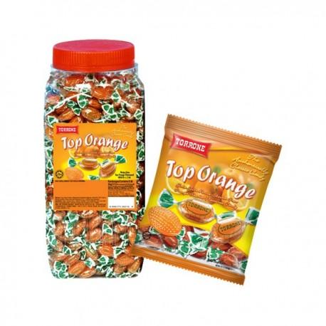 TORRONE Candy 600pcs - Top Orange 2Kg (JAR)