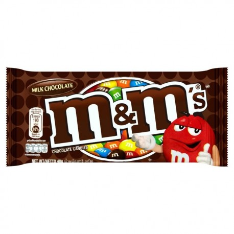 M&M's Chocolate Candies 40g- Milk Chocolate