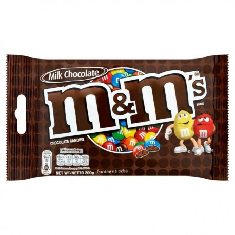 M&M's Chocolate Candies 200g- Milk Chocolate