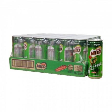 Milo Activ-Go Original Can Drink 240ml x24