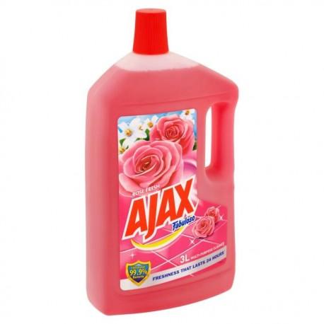 AJAX Fabuloso Multi-purpose Cleaner 3L- Rose Fresh