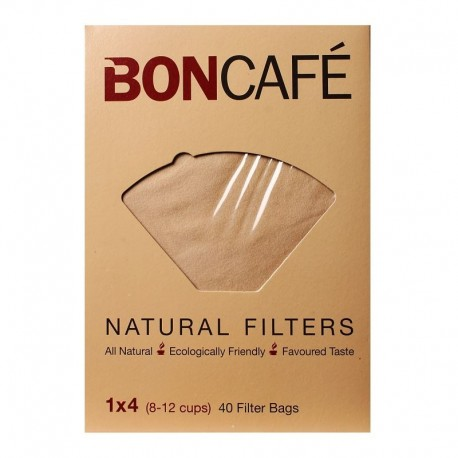 BONCAFE Natural Filters 1x4 (8-12Cups)