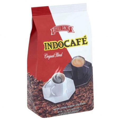 Indocafe Instant Coffee Refill 200g - Original Blend