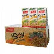 Yeo's Soy Bean Milk Drink 4x6x250ml (Tetra)