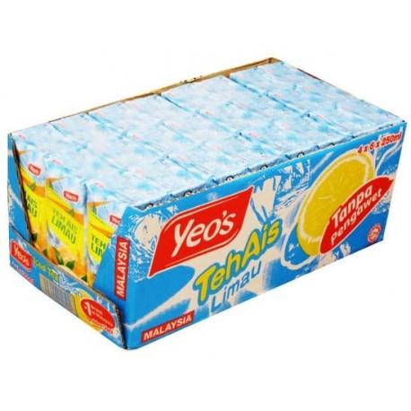 Yeo's Ice Lemon Tea Drink 4x6x250ml (Tetra)