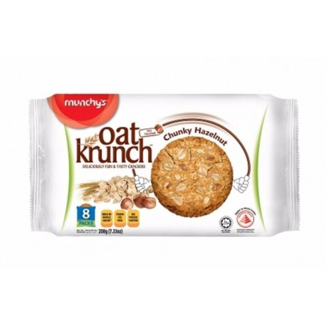 Munchy's Oat Krunch Crackers 8x26g - Dark Chocolate