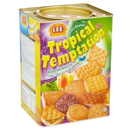 LEE Tropical Temptation Assorted Biscuits 630g