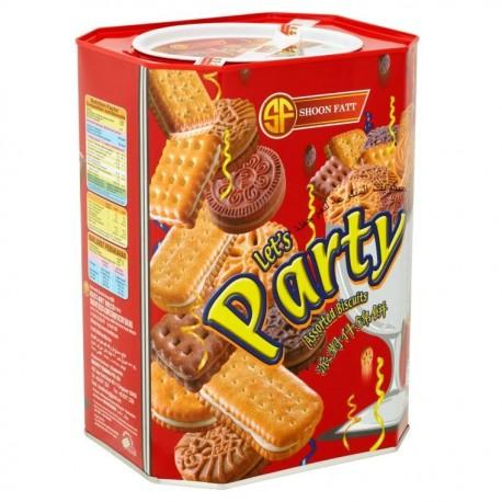Shoon Fatt Let's Party Assorted Biscuits 600g