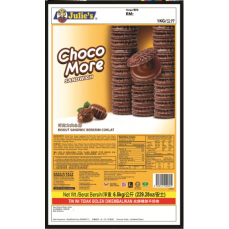Julie's Choco More Sandwich 6.5Kg