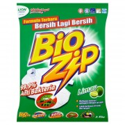 Bio Zip Powder Detergent 2.5kg - Lime