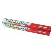 Diamond Aluminium Foil 25sq ft