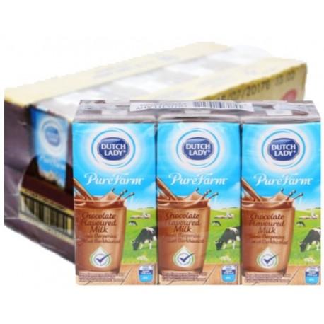 Dutch Lady UHT Chocolate Flavoured Milk 4x6x200ml