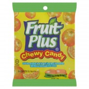 Fruit Plus Chewy Candy 150g - Orange