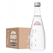 Evian Mineral Water 330ml x 20 (GLASS)