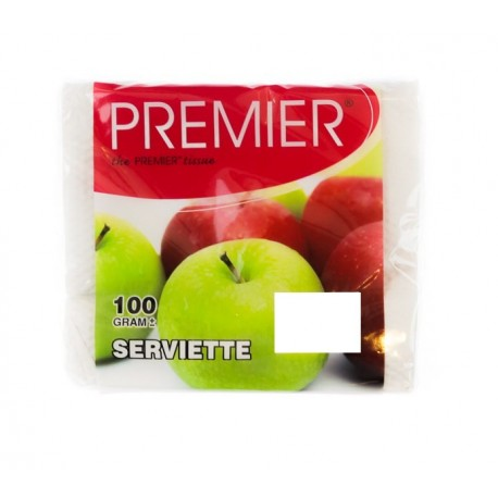 PREMIER Serviette 100g
