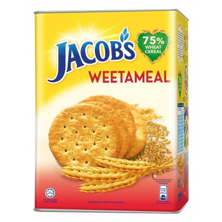 Jacob's Wheat Cracker 750g - Weetameal