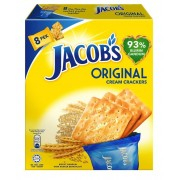 Jacob's Sachet Multipack Cream Crackers 240g- Original