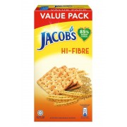 Jacob's Wheat Cracker Refill Value Pack 355g - Hi-Fibre