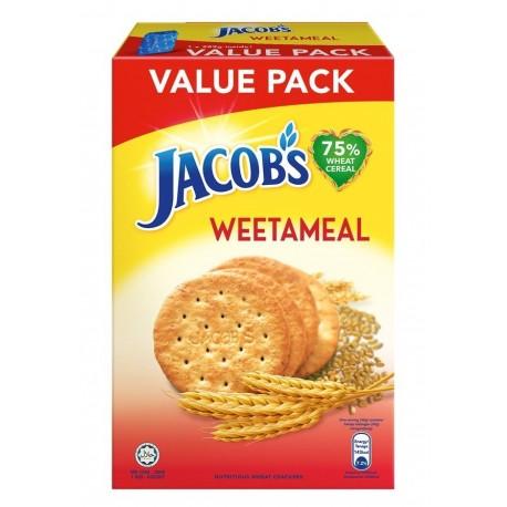 Jacob's Wheat Cracker Refill Value Pack 289g Weetameal