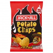 Jack 'N Jill Salsa Chili Potato Chips 8 X 15g