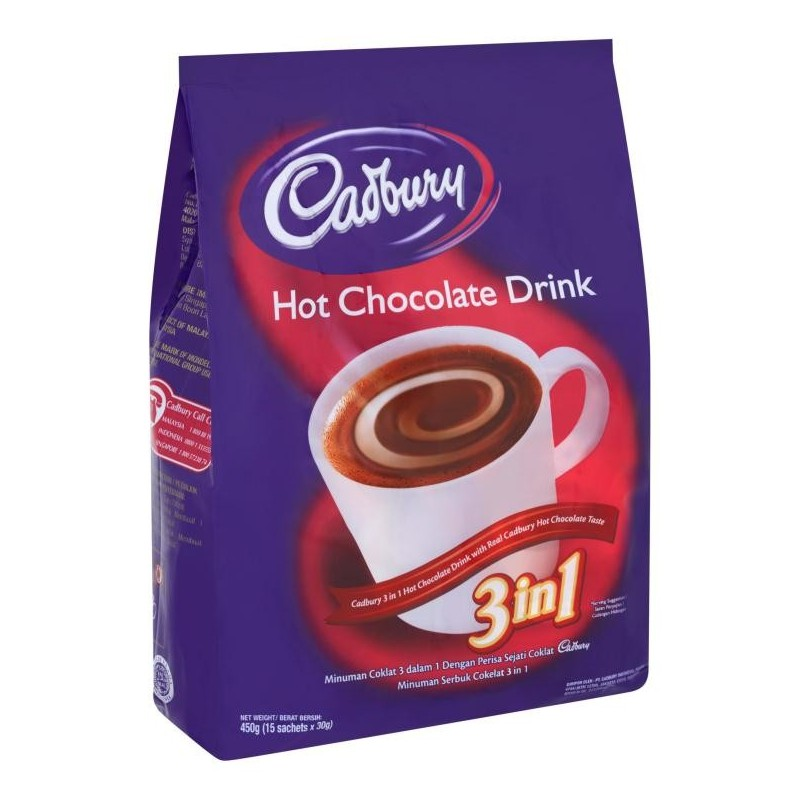 Shop Online For Cadbury 3in1 Hot Chocolate Drink Pantry