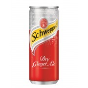 Schweppes Dry Ginger Ale Drink 320ml x12