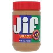 Jif Peanut Butter 454g - Creamy